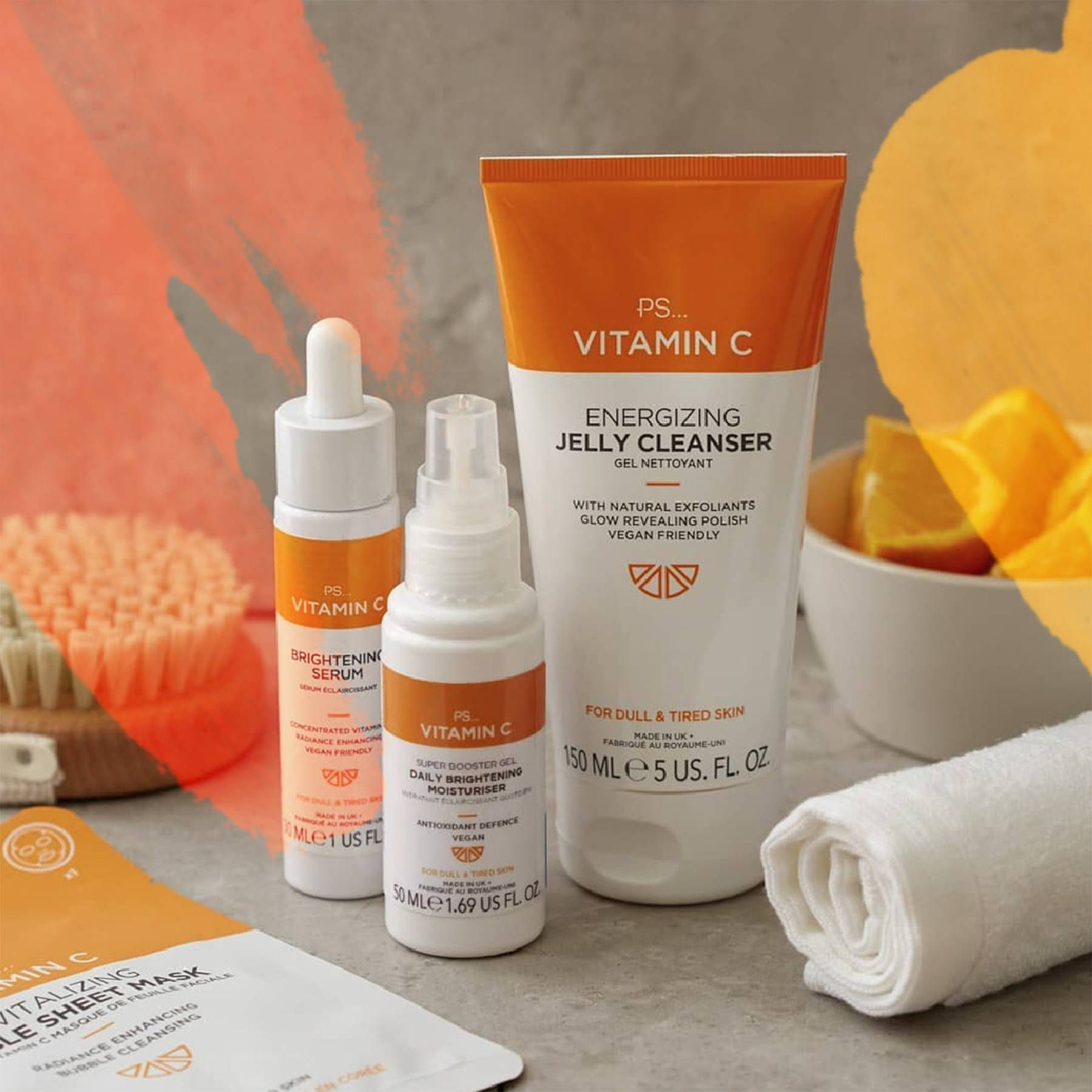 Beauty Bloggers Say This Primark Vitamin C Range Gives Skin A Glow That No Amount Of Makeup Can Give Vitamins For Skin Primark Face Products Skincare