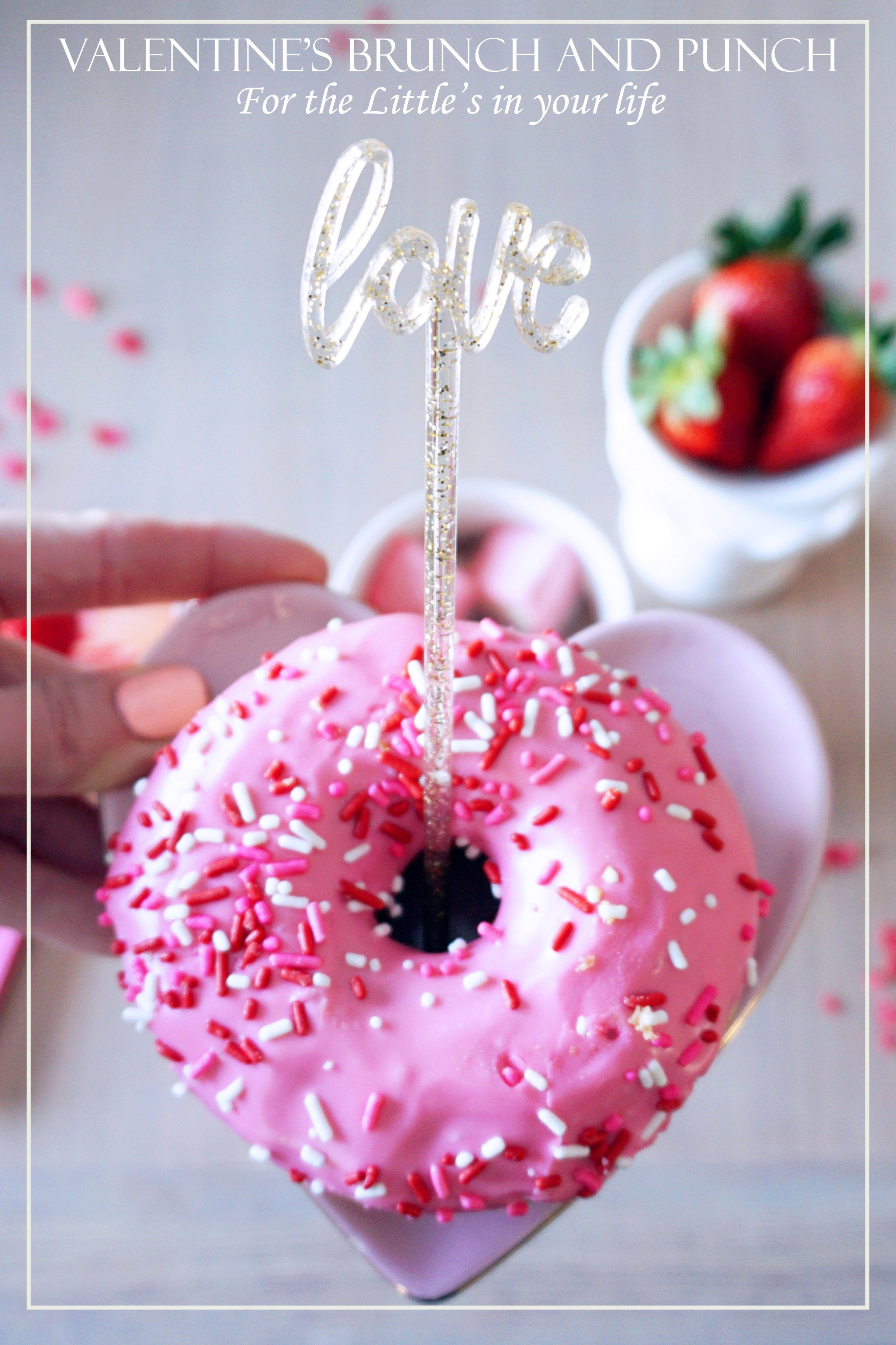 Valentine's Day Brunch and Punch for the Little's in your Life | EH Design Blog | Valentine's Celebration for the Kids