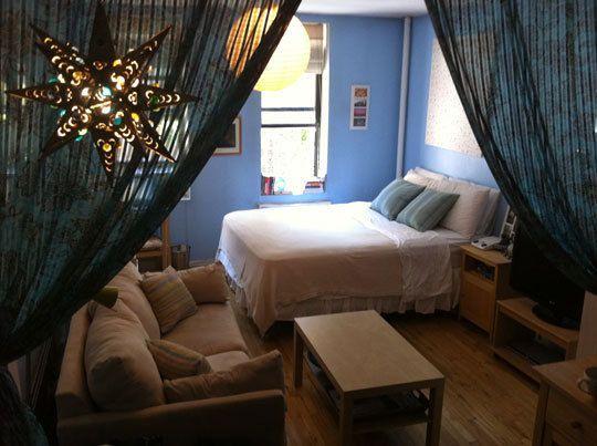 Sarika s studio apartment apartmentos b c it 39 s fresh - Divider ideas for studio apartments ...