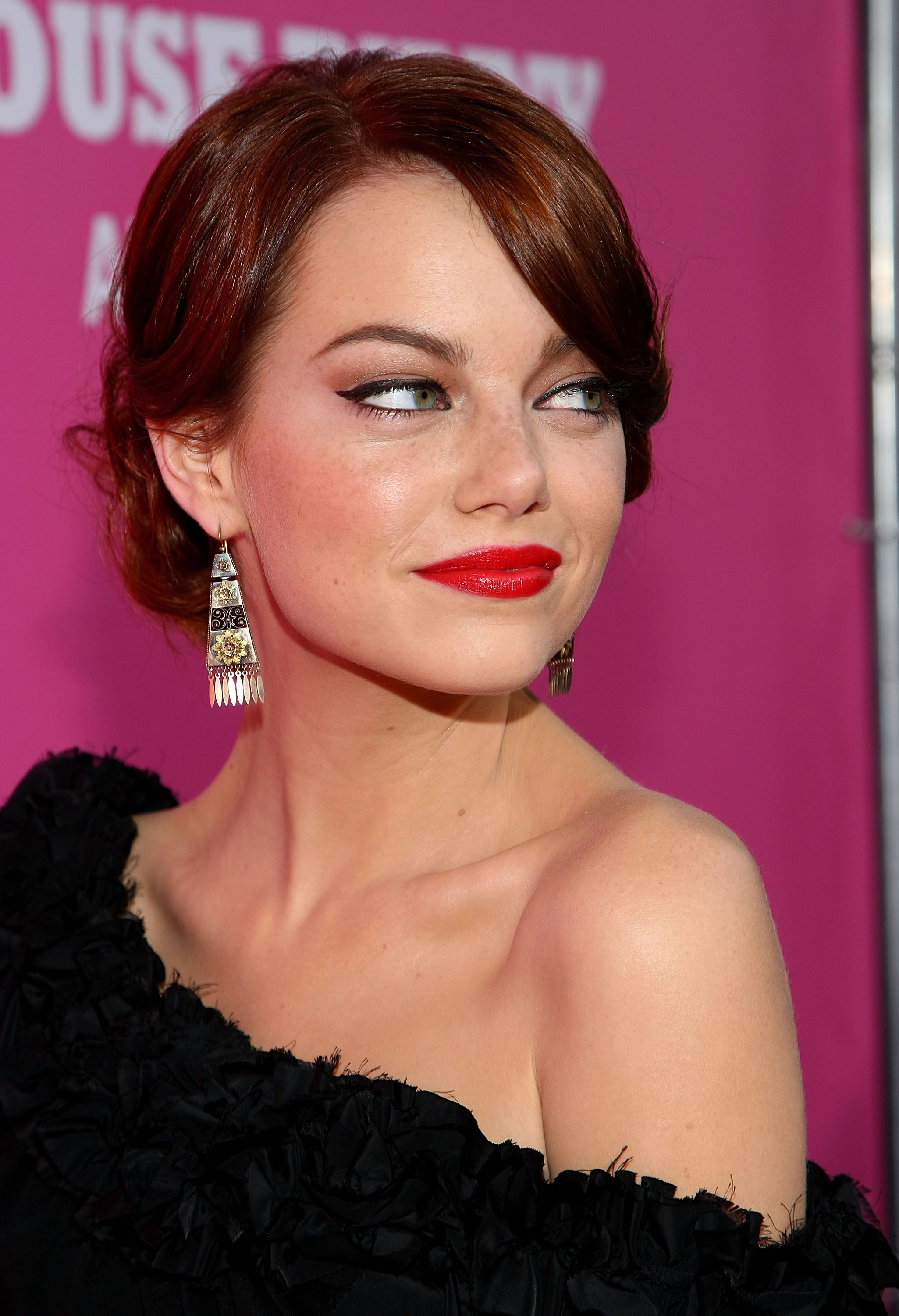 Emma Stone The House Bunny Los Angeles Premiere Arrivals