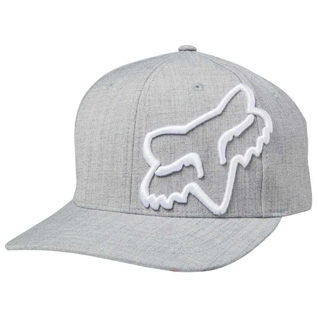 premium selection f923f 83ac1 Fox Clouded Flexfit Hat - Steel Gray-L XL