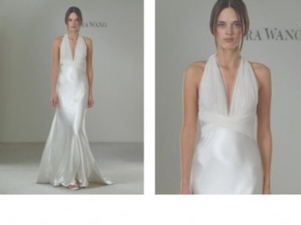 Used vera wang wedding dress  Inspired Gowns Vera Wang g buy this dress for a fraction of the