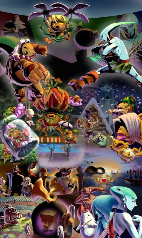 nintendo trash fanatic is here ムジュラの仮面3d発売 ネタバレ注意 by ミャーコ on pixiv legend of zelda breath legend of zelda cool artwork
