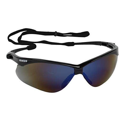 Jackson Safety Nemesis CSA Safety Glasses (20382), CSA Certified, Blue  Mirror Lens with Black Frame, Pack of 12 Review 84548d453bbd