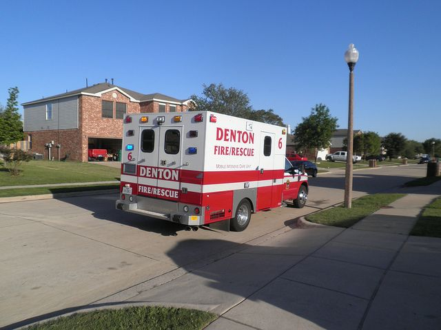 A Few Of The Last Denton Fire Dept Ambulance Colors With Images Emergency Vehicles Fire Rescue Fire Trucks