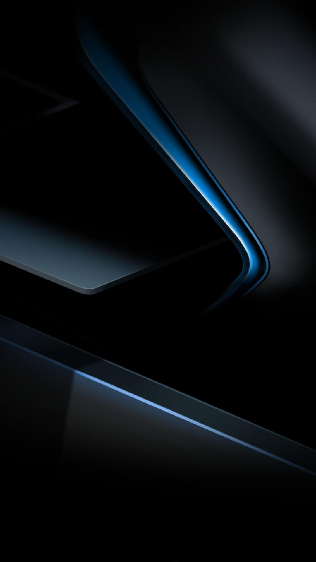 Blue metalic Samsung papel de parede, Papel de parede