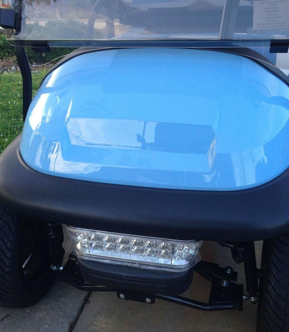 A Halogen Light Bar Is A Much Needed Club Car Accessory For