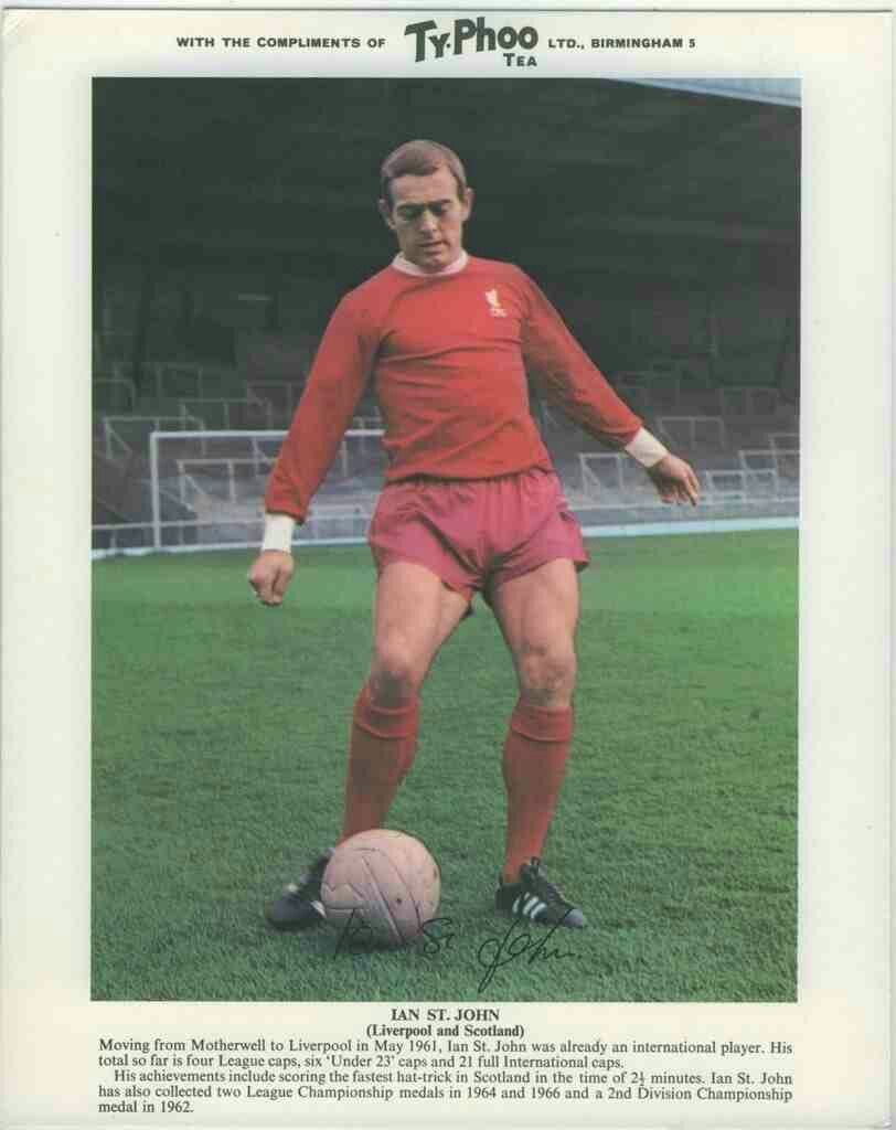 Ian St John Of Liverpool In 1968 International Football Liverpool Football Club Liverpool Football