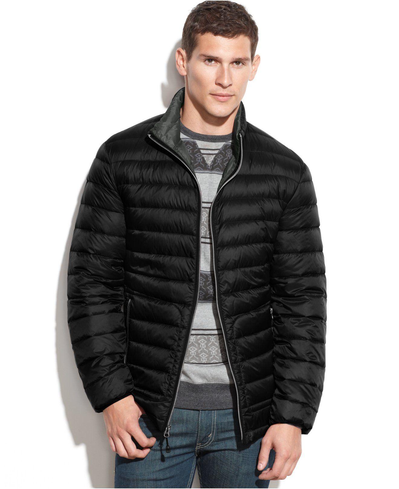 Buffalo David Bitton Packable Down Jacket Coats Jackets Men Macy S Jackets Down Jacket Mens Jackets [ 1616 x 1320 Pixel ]