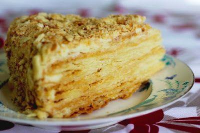 рецепт торт напалеон из одноклассников