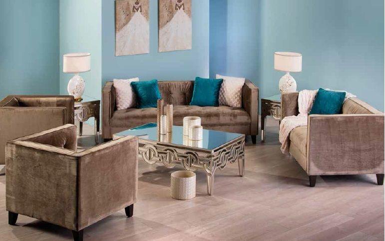 تشكيلة جديدة من أطقم الجلوس العصرية والكلاسيكية متوفرة حاليا في معارضنا أطقم غرف جلوس عصرية كلاسيك مفروشات مي Furniture Outdoor Furniture Sets Home Decor