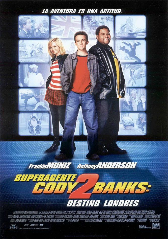 Superagente Cody Banks 2 Destino Londres Banks Londres Destino