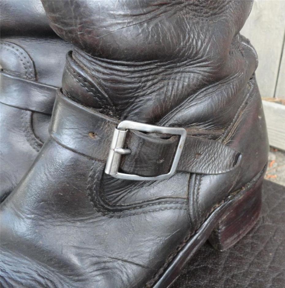 Botas de avestruz color gris ropa bolsas y calzado en mercadolibre - Vintage Chippewa Engineer Boots 11