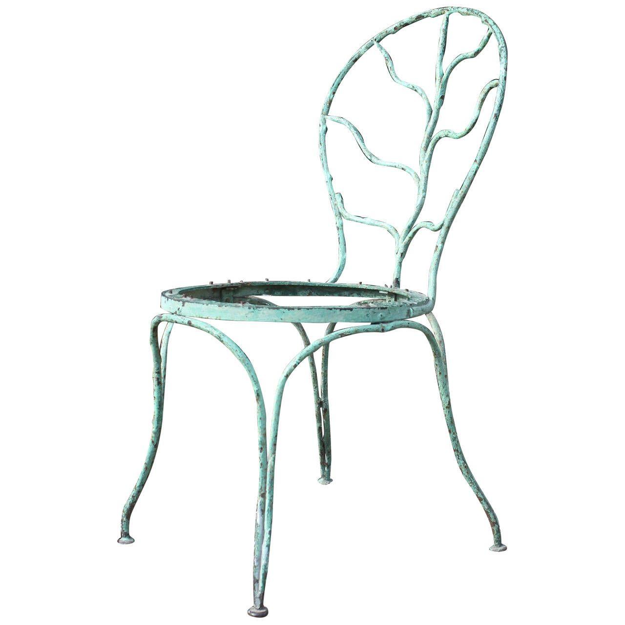 chaise jean michel frank jardin