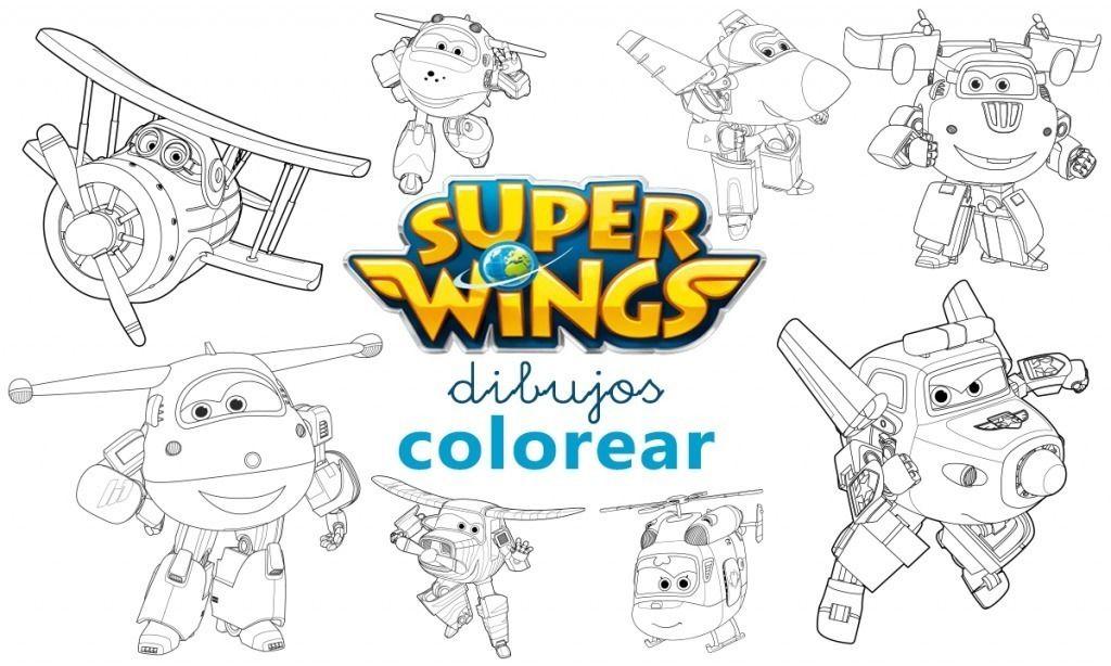 Dibujos Para Colorear De Super Wings Children Coloring Dibujos