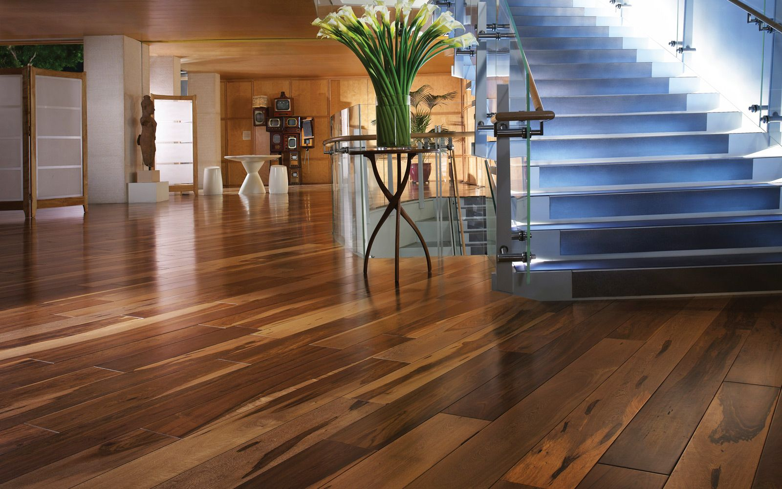 Wide Plank Custom Stain Hickory Hickory Flooring Pinterest Dark Brown The Rich And Mosaics