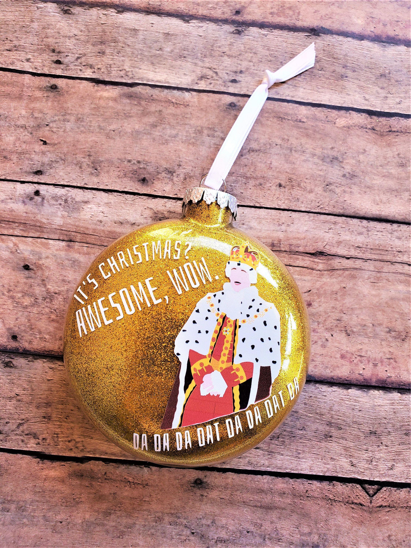 Wow Christmas Presents 2020 Hamilton Christmas Ornament, King George Christmas Gift, Awesome