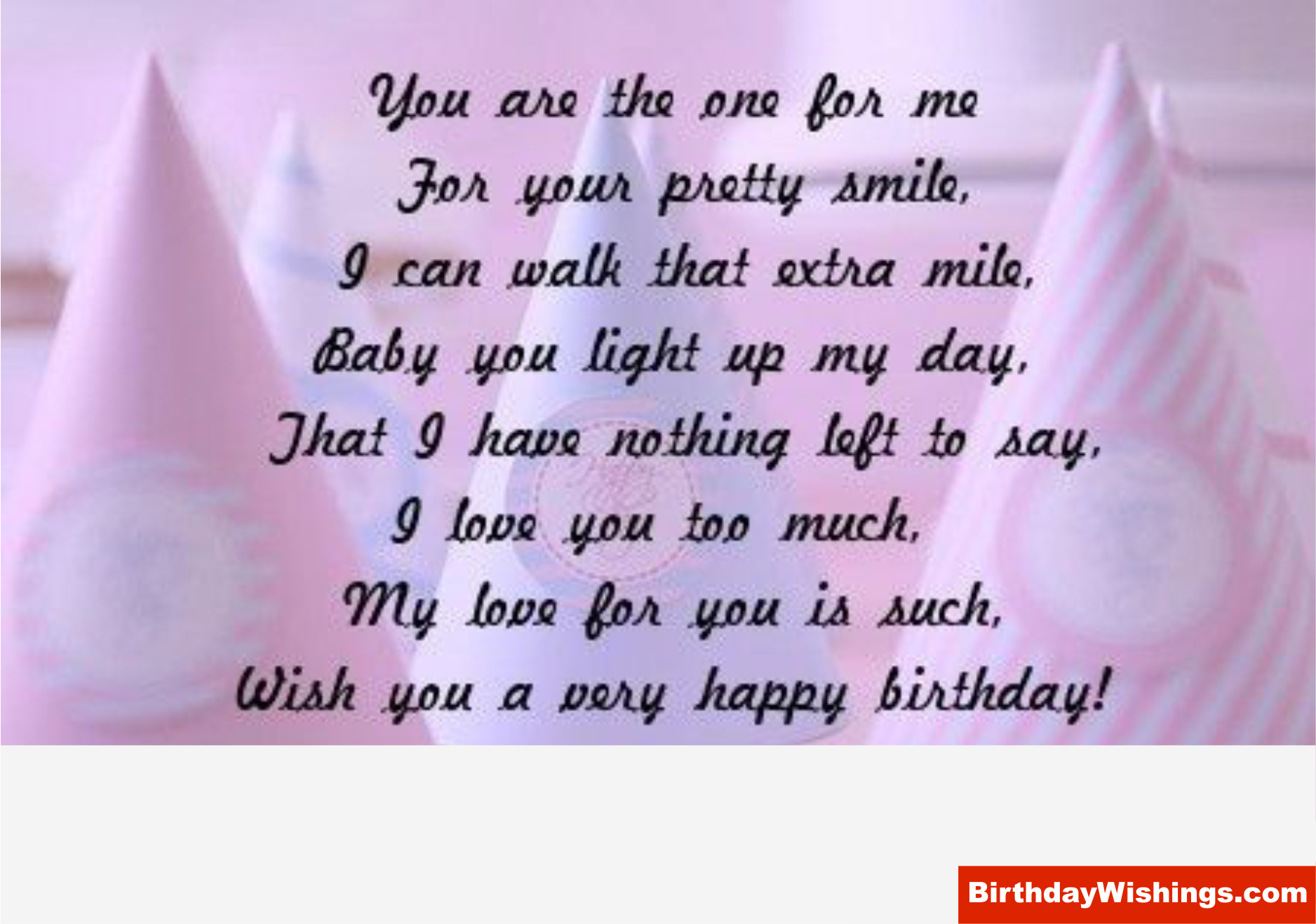 Birthday Poem For Some One Special Birthday Cards For Girlfriend