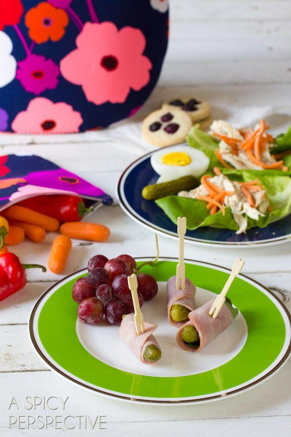 Healthy Lunch Ideas | ASpicyPerspective.com #backtoschool #lunch #schoollunch #lunchbox
