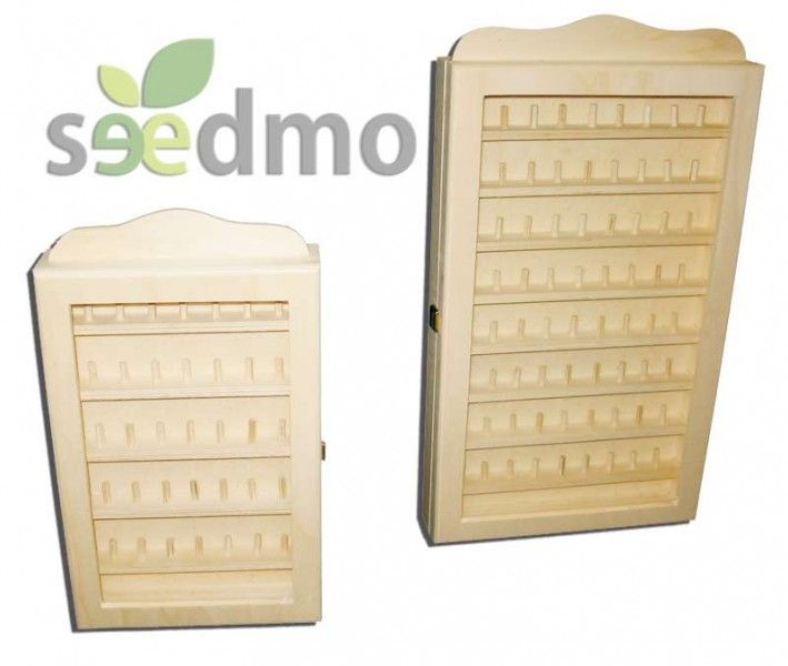 Muebles y decoraci n vitrina expositora para dedales for Muebles low cost online