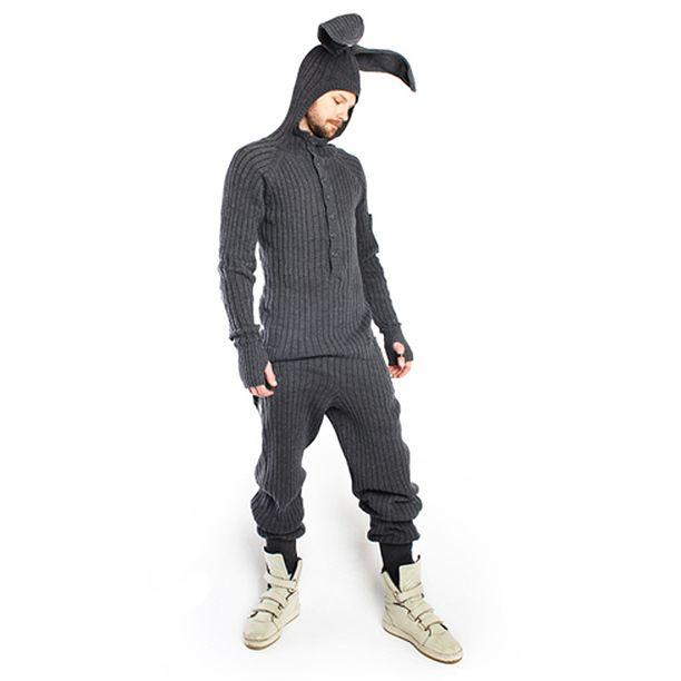 438e4714956c Bunny Onesie Unisex Grey grey