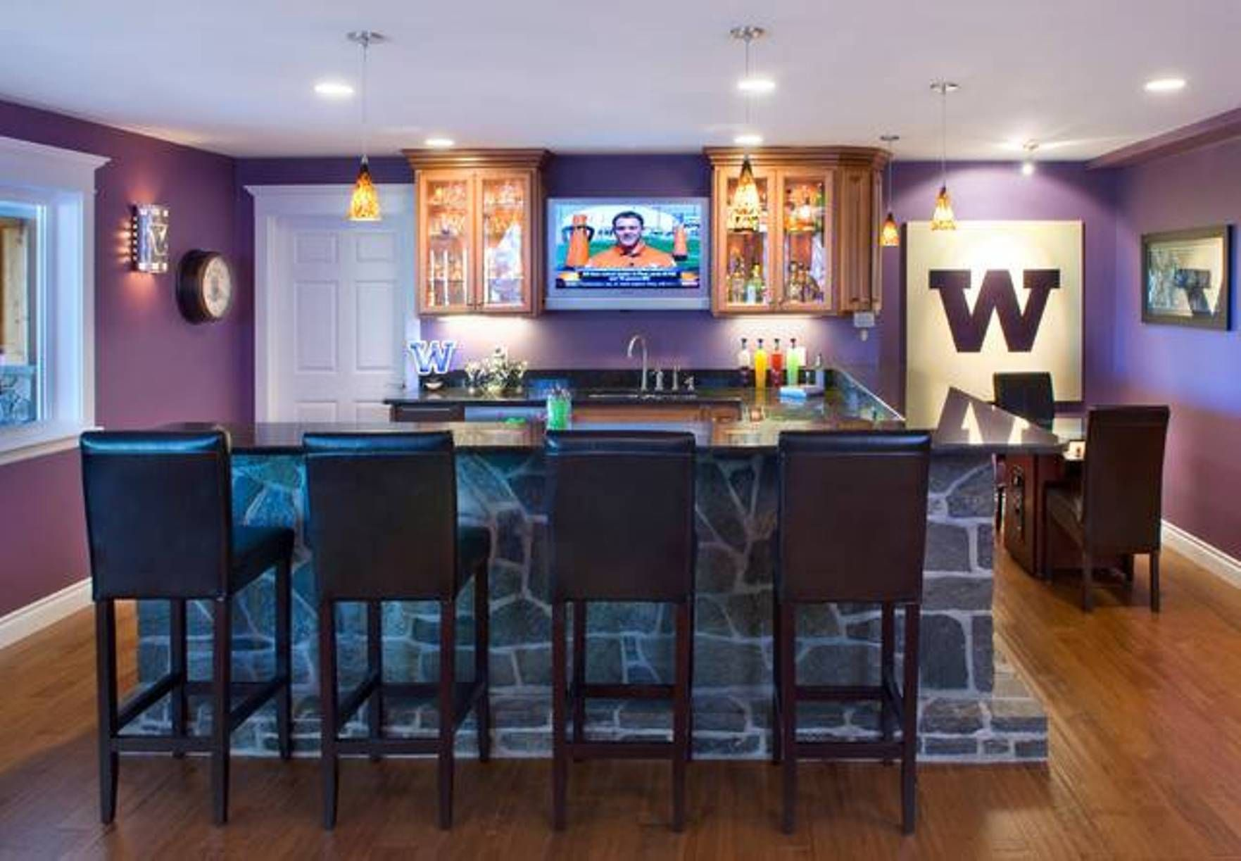 Sports Themed Basement Decorating Ideas   Google Search