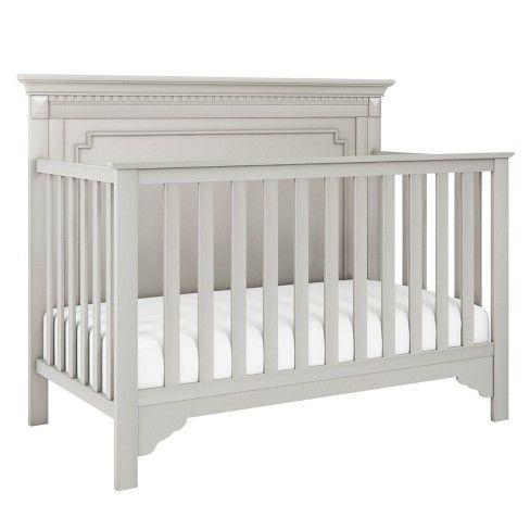Baby Relax Edgemont 5-in-1 Convertible Crib - Soft Gray ...