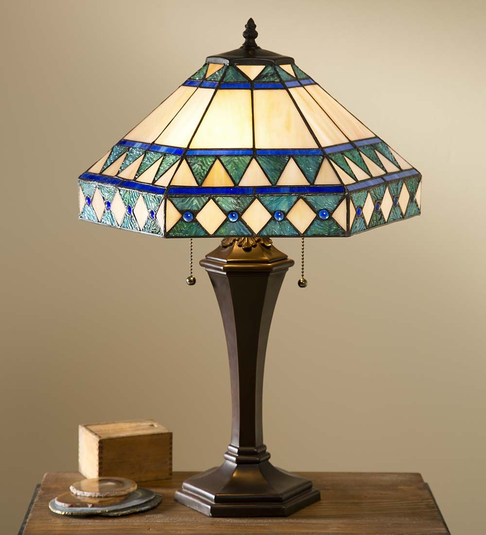 Camden Tiffany Table Lamp Lamps Lighting Table Lamp Tiffany