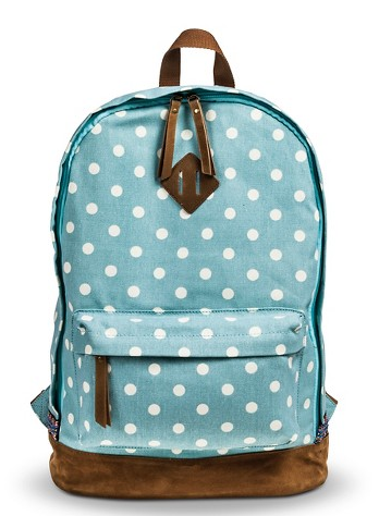 5e957c46916e Blue Polkadot Backpack