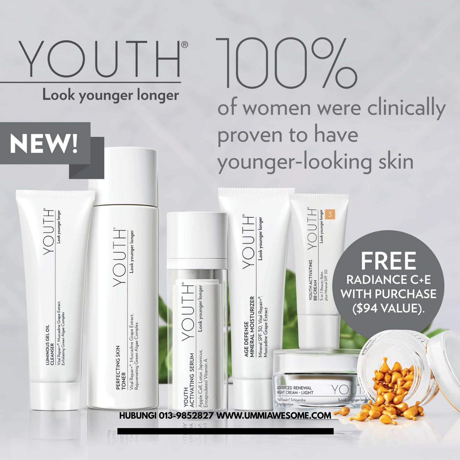 Skin Care Viva Untuk Kulit Berminyak: YOUTH Shaklee Skincare Set Kecantikan Selamat Dan