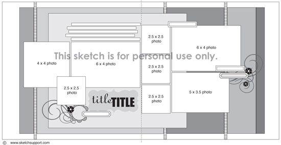 Sketch Support - 2-page layout
