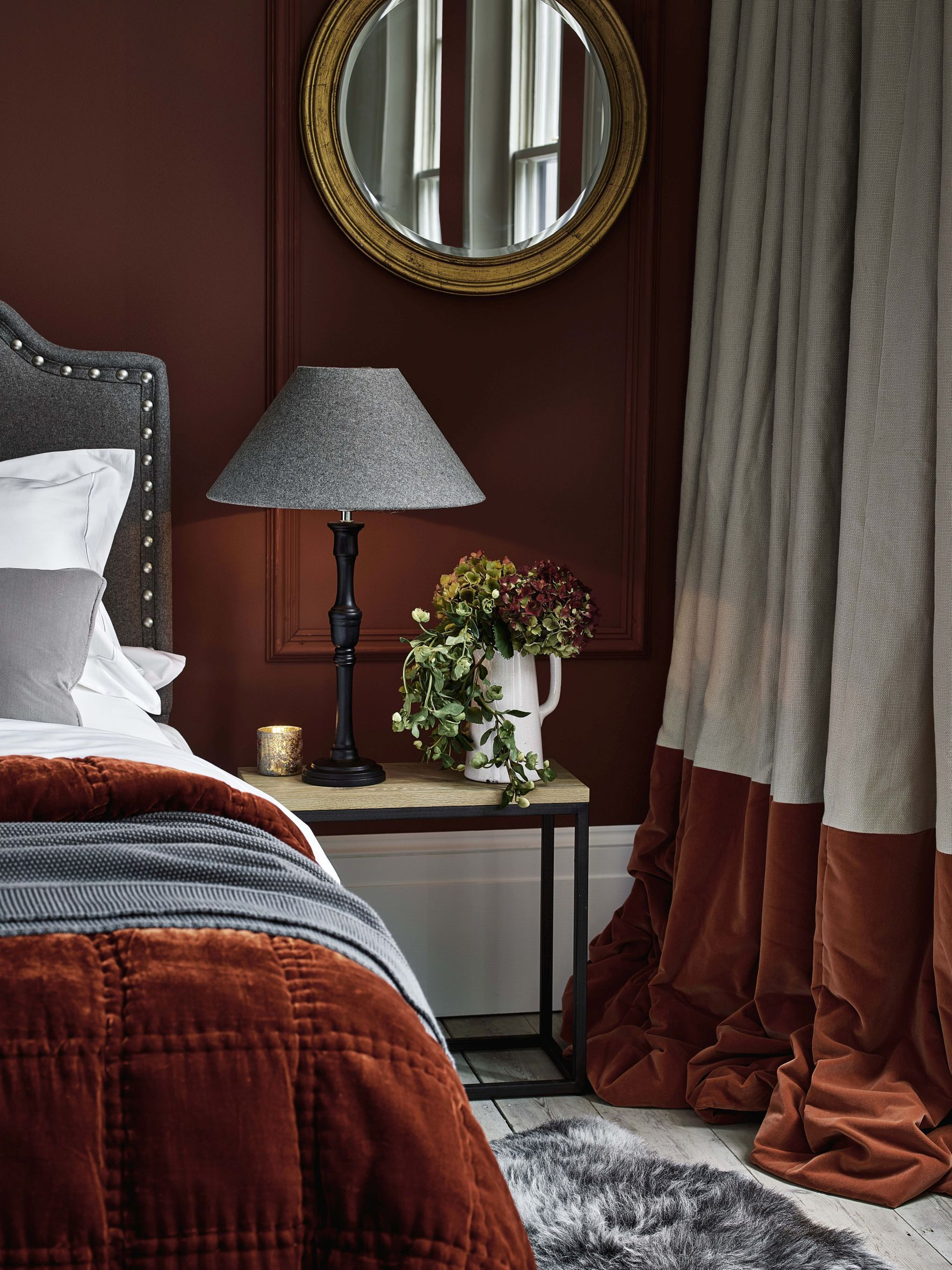 16 stylish bedroom curtain ideas | fireplace in 2019 ...