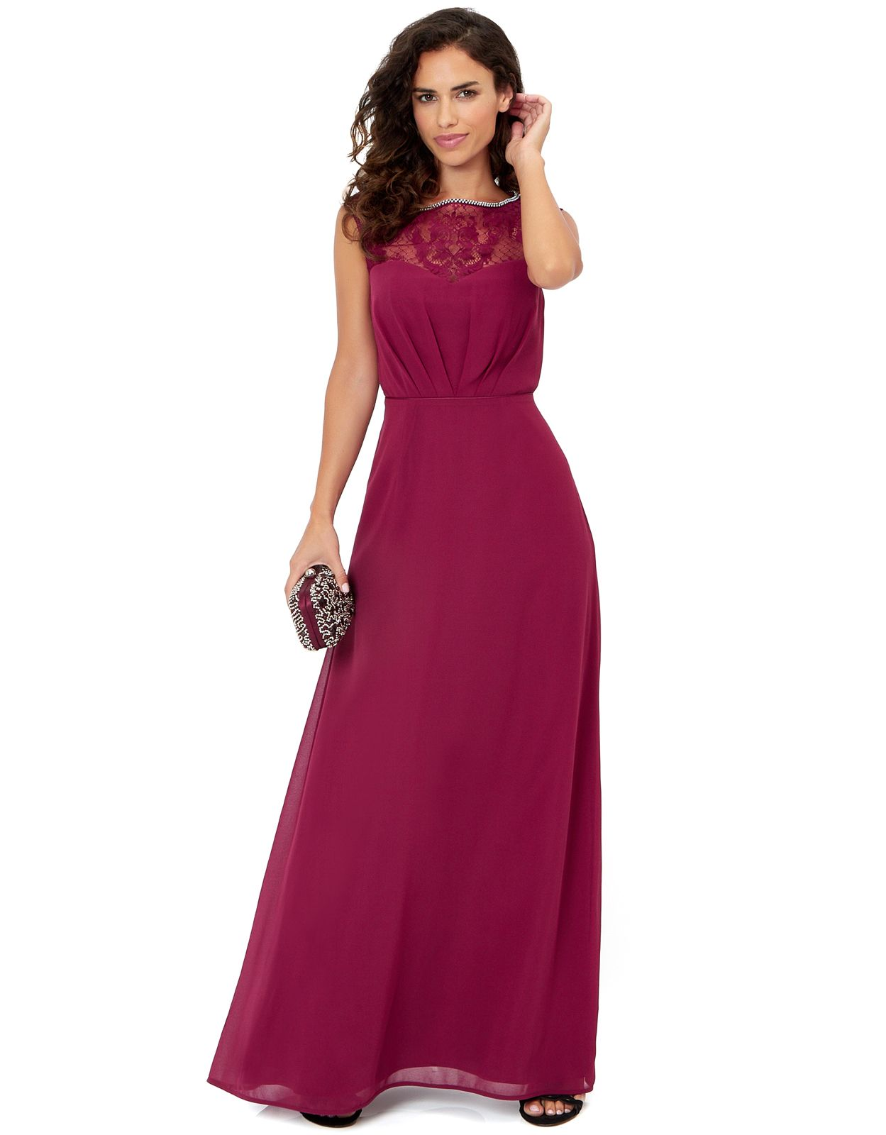 Maisie Maxi Dress Red Monsoon Wedding Bridesmaid