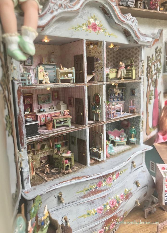 Many Mini Miniatures #dollhouses