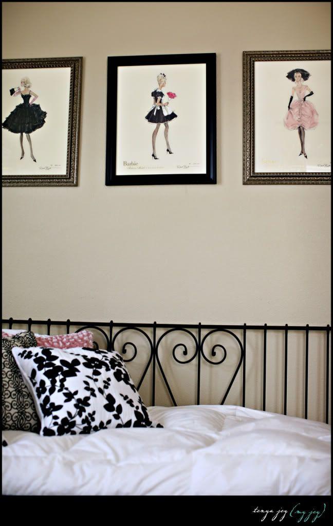 Little girl's bedroom-vintage barbie | Pretty Rooms ...