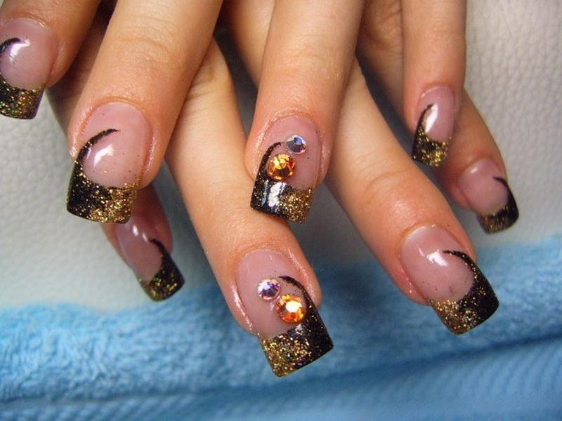 nice short nail designs for fall Nail Art Robin Moses Fall Cute Nail ...