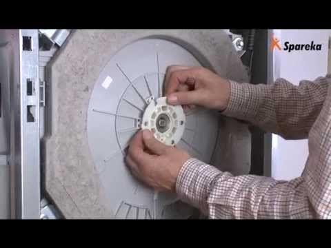 Remplacer roulements et paliers de tambour de votre - Bruit machine a laver ...