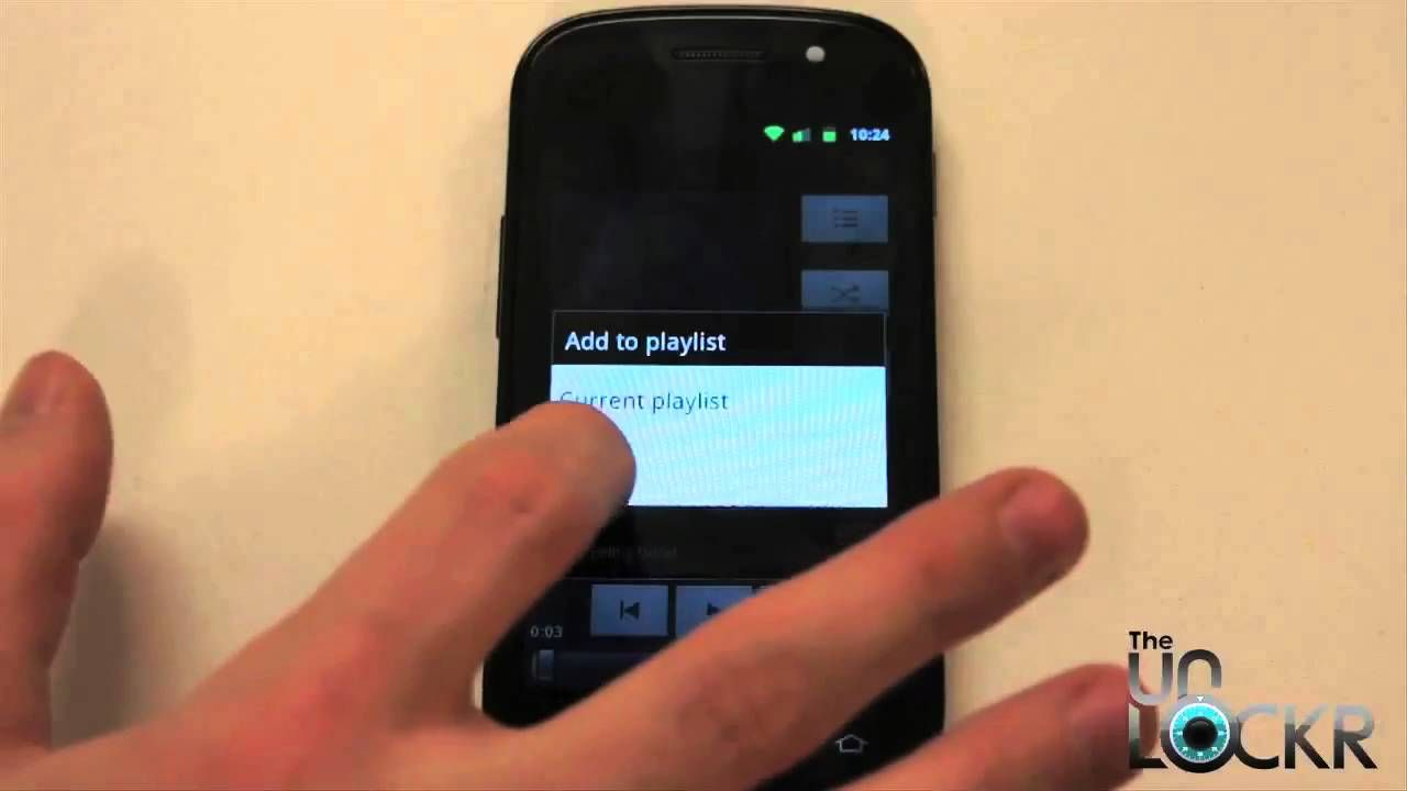 Android 101 How To Create A Playlist Music App Android Listening To Music