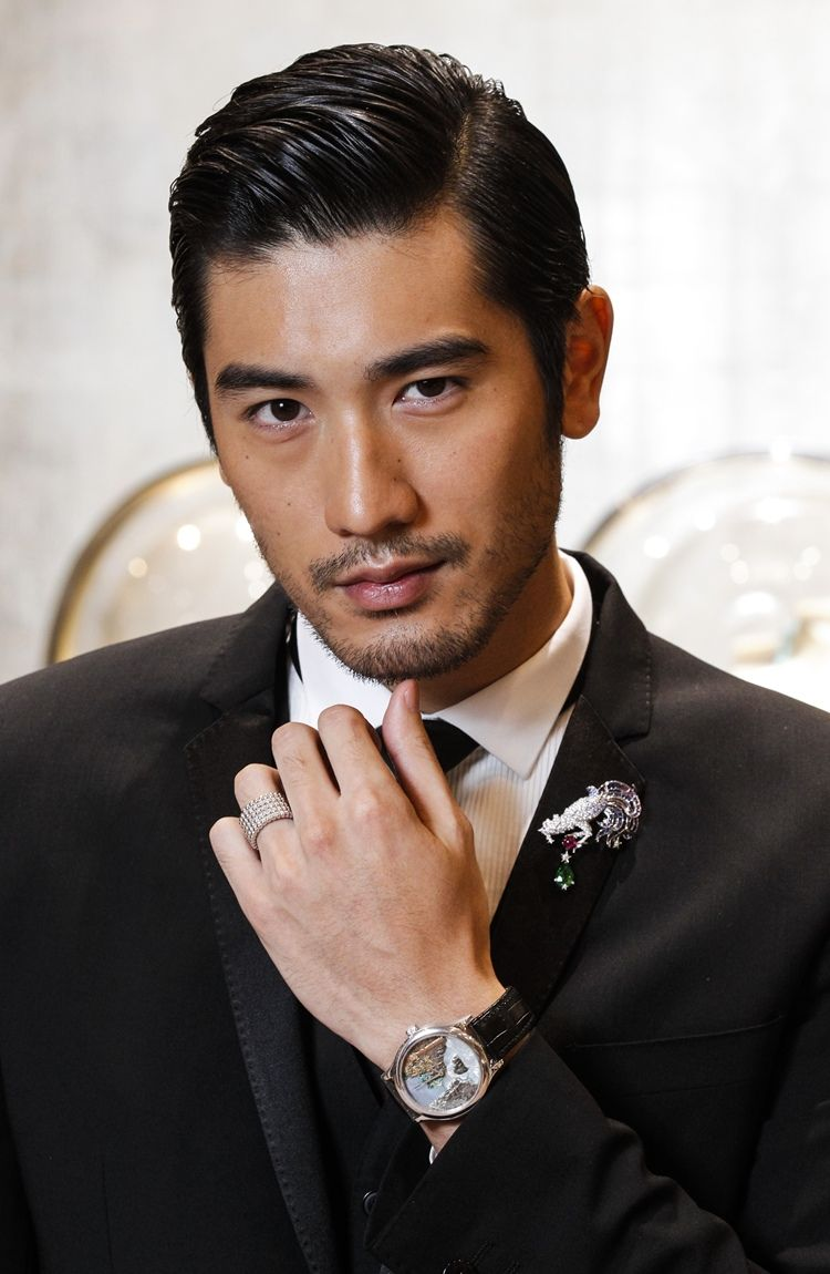 Hairstyles For Asian Hair Fascinating Godfrey Gao  Google Search  Heartthrob ❤  Pinterest  Godfrey