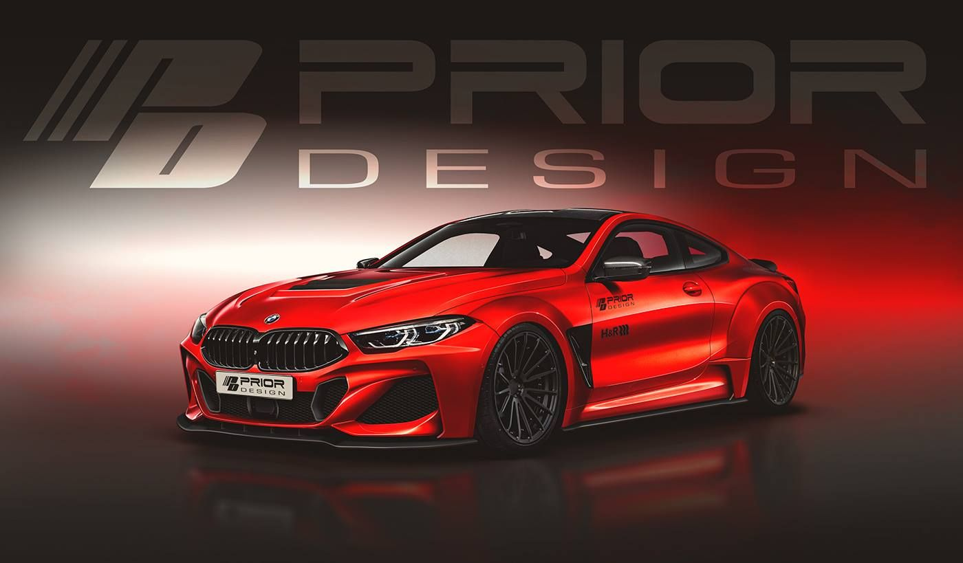 Prior Design Is Working Up A Very Angry Bmw 8 Series Widebody Kit