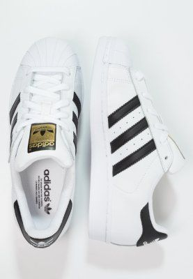 adidas Originals SUPERSTAR - Sneakers laag - white/core ...