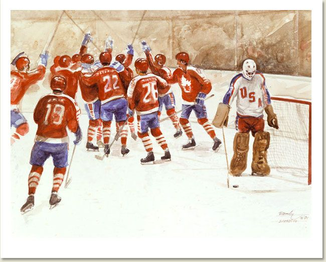 Ken Danby - Olympics   Canvas giclee, Danby, Canadian artists
