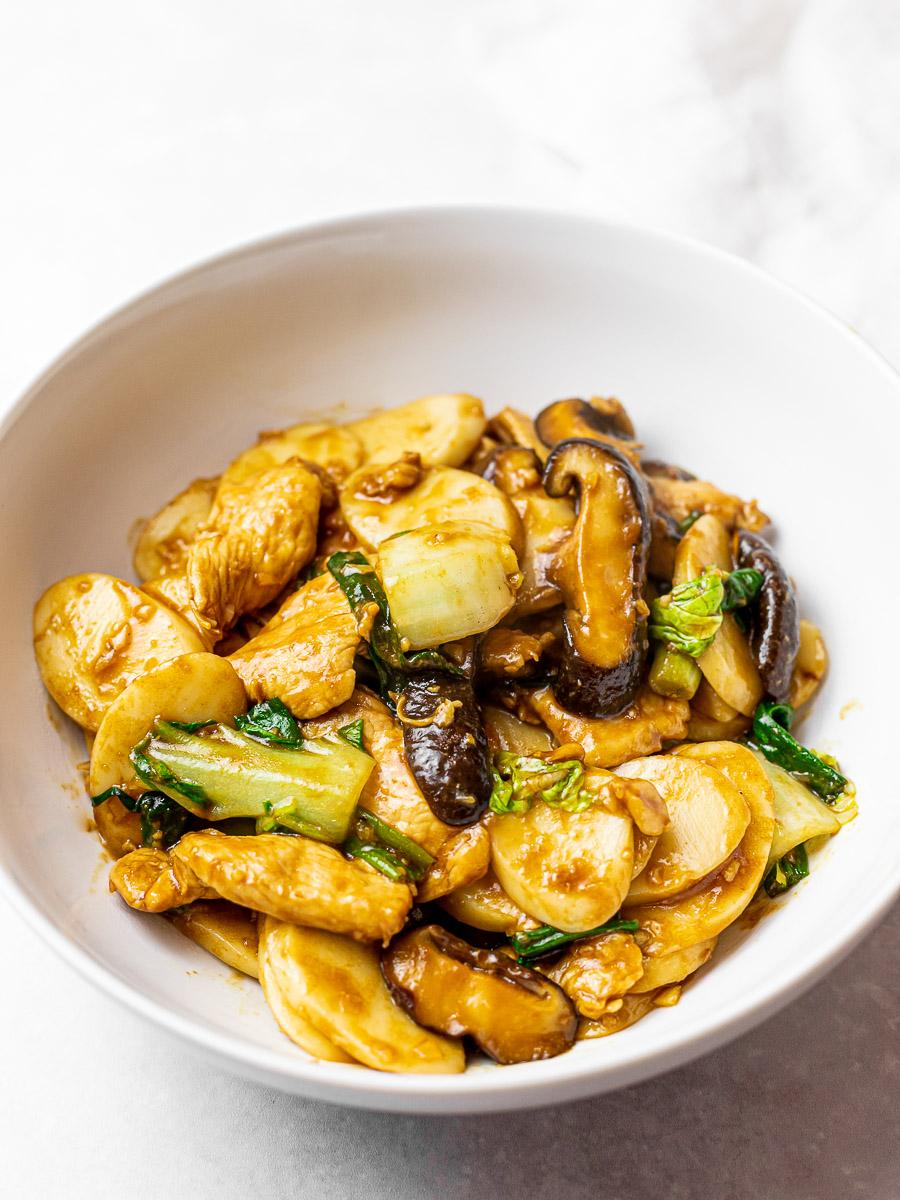 Stir Fried Shanghai Rice Cakes Recipe Easy asian