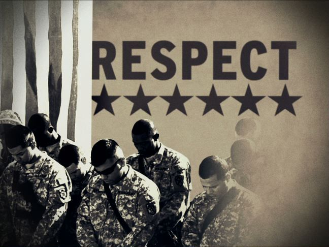 respect army value essay Army values essay nowadays the military of the country is the face of its independence, patriotism these seven army values of duty, respect, loyalty.