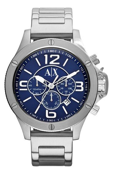 a434856168f Men s AX Armani Exchange Chronograph Bracelet Watch