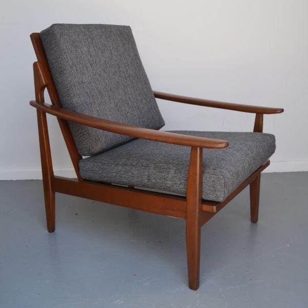 Gumtree Ballina Accent Chair: Vintage, Retro, Genuine FLER Armchair, Parker Era