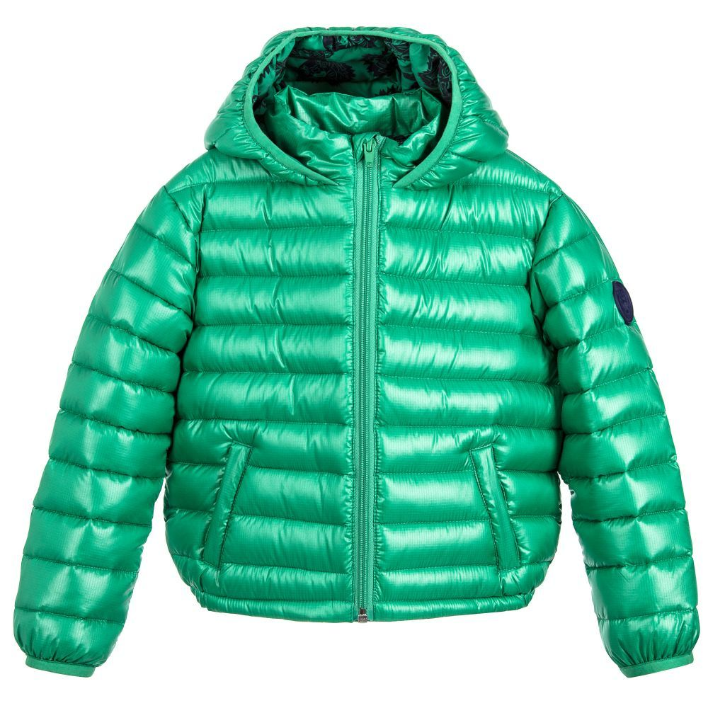 39c378449a74 Kenzo - Green Down Padded Jacket