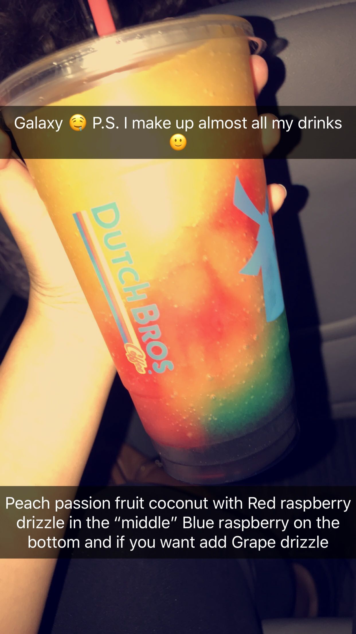 Not the official name of this rebel! I just made it up!! #dutchbros