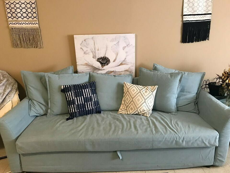 Light Blue Barely Used Ikea Pull Out Couch Ikea Sofa Ideas Of Ikea Sofa Sofa Ikea Ikeasofa Light Blue Bar In 2020 Ikea Pull Out Couch Ikea Sofa Couch Prices