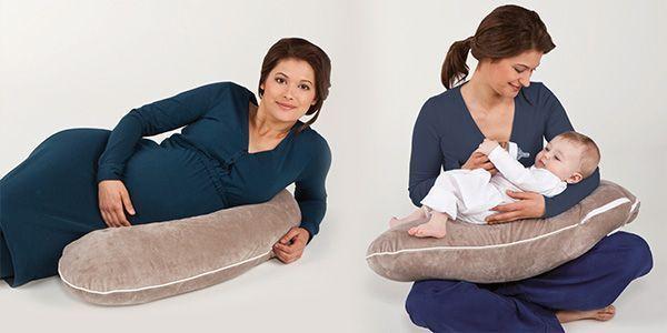 Pohodlné kojící polštářky  Využijete je při těhotenství jako podporu rostoucího bříška při spaní nebo jen odpočinku na boku, dále pak samozřejmě při kojení miminka.